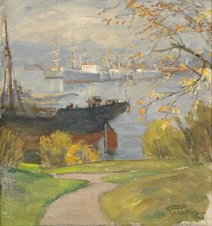 Hamnen, Höst by Prins EUGEN