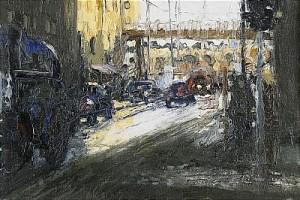 Stockholmsliv by Bo LARSSON