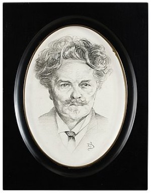 Porträtt Av August Strindberg by Richard BERGH
