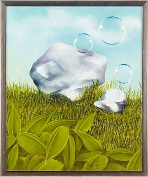 Komposition Med Bubblor by Thomas HAFSTRÖM