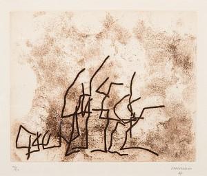 Ecarts by Eduardo CHILLIDA