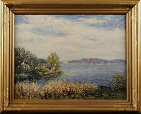 Vårdag Vid Sjön, Trekanten by Knut JANSON