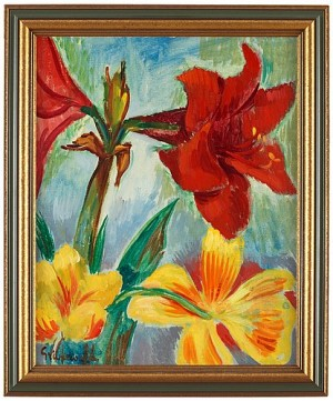 Still Life With Amaryllis by Isaac GRÜNEWALD