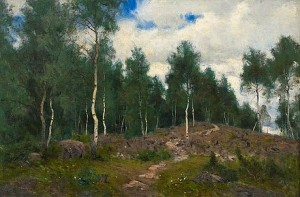 Birches by Olof ARBORELIUS
