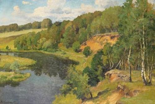 Vid Floden by Aleksei Matveevich PROKOFIEV