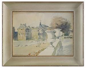 Le Jardin Du Luxembourg by Albert Nikolaievich BENOIS