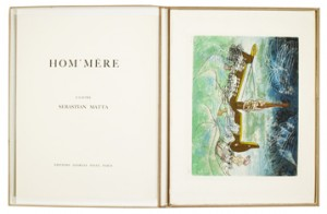 Hom-mere - L'eautre. Portfolio Comprising Of 10 Colour Lithographs by Roberto MATTA