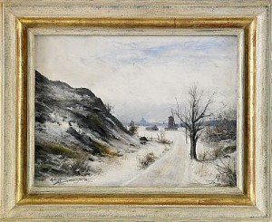 Utsikt Från Waldemarsudde Mot Skeppsholmen - Stockholm by Konrad SIMONSSON