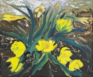 I Min Trädgård - Aprilsnö by Hans WIGERT