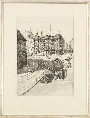 (2) Tidningarnas Telegrambyrå, Stockholm, Fabriksfönster, London by Christian DUE