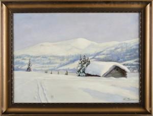 Vinterlandskap by Emma SPARRE
