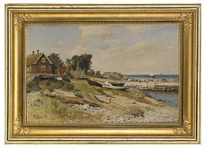 Sommardag, Arilds Läge by Gustaf RYDBERG