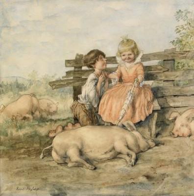 Prinsessan Och Svinaherden by Robert HÖGFELDT