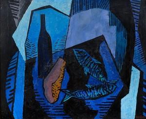 Still Life In Blue by Erik ENROTH