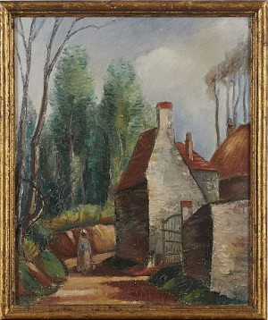 Village De Normandie by Knut LUNDSTRÖM