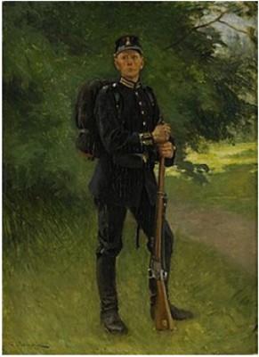 Svensk Soldat by Gustaf CEDERSTRÖM