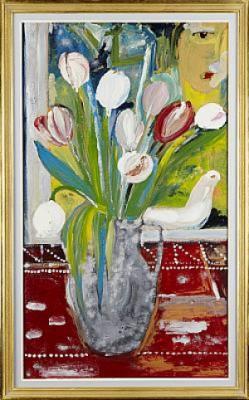 Komposition Med Blommor by Aly Ben SALEM