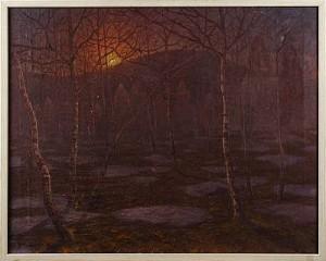 Landskap, Norrland by Oscar LYCKE