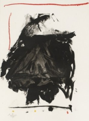 Black Rumble by Robert MOTHERWELL
