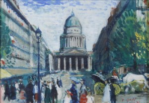Parismotiv Med Pantheon by Francois GALL