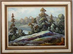Vy Med Klippor by Aarne ALANKO