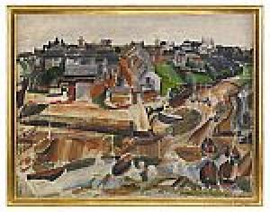 Hamnen I Douëlan by John STEN