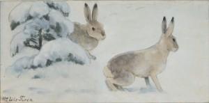 Vinterharar by Nils TIRÉN