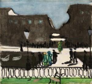 Utsikt Mot Korsgatan by Ragnar SANDBERG