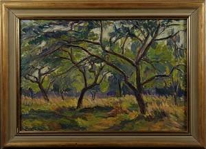 Träd I Landskap by Einar ROSÉN