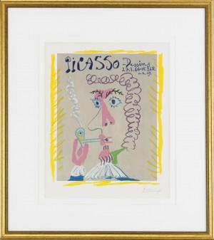 Fumeur - Picasso, Dessins 27.3.66-15.3.68 by Pablo PICASSO