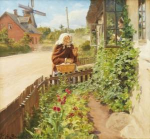 Conversation At The Window by Hans Andersen BRENDEKILDE