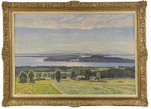 Vy Mot Oviksfjällen, Jämtland by Anton GENBERG