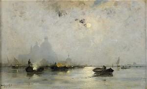 Venedig I Månsken by Wilhelm Von GEGERFELT