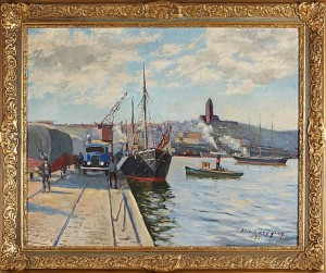 Göteborgs Hamn by Eric LUNDGREN