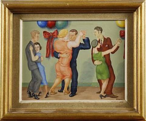 Tango by Fritz HÖGBERG