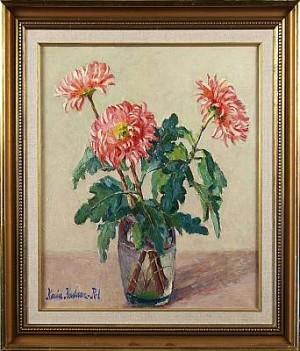 Stilleben Med Blommor by Karin KARLSSON