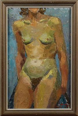 Kvinnotorso by Mollie FAUSTMAN