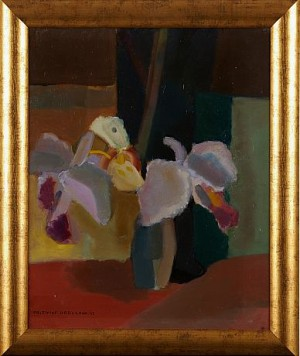 Blomsterstilleben by Frithiof BERGLUND