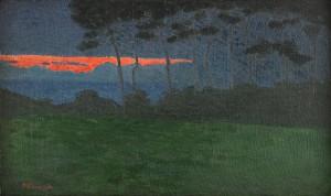 Kväll I Bretagne by Pelle SWEDLUND