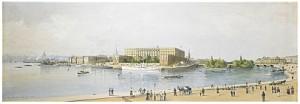 Utsikt Mot Slottet Från Grand Hotel - Stockholm by Anna PALM DE ROSA