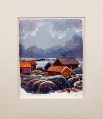 Höstkväll by Roland SVENSSON