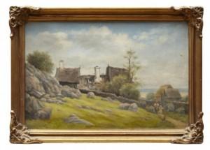 Stugor Med Figurer by Oscar OHLSON