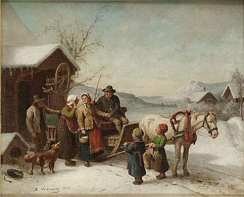 Vinterfärd by Bengt NORDENBERG