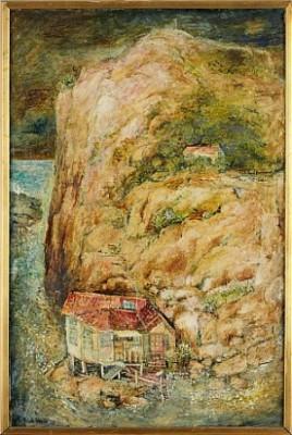 Hus Vid Klippa by Matsola BURMAN