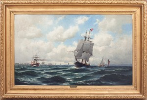 Motiv Från öresund by Christian Fredrik SWENSSON