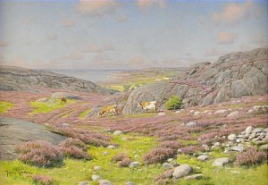Motiv Från Halländska Nordkusten by Johan KROUTHÉN