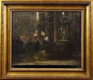 Vesper I San Marco by Oscar BJÖRCK