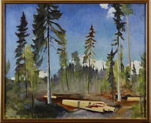 Skogen by Torsten JOVINGE