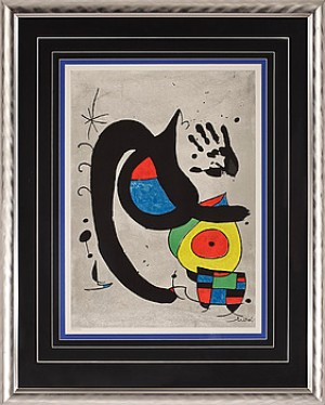Komposition Med Handavtryck by Joan MIRO