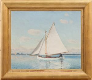 Segelbåt by Hjalmar LINDE